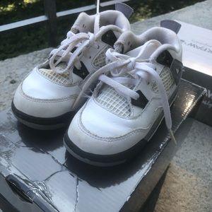 Air Jordan 4 8c Toddler Boy Girl